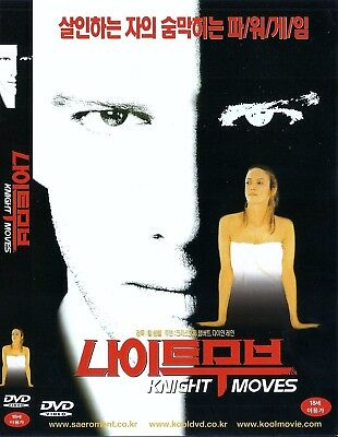 Knight Moves (1993) Christopher Lambert / Diane Lane DVD NEW *FAST SHIPPING*