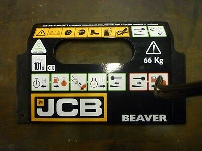 jcb beaver decal ( xmas sale why stock last )
