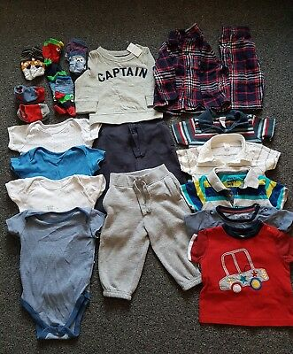 Baby boy clothes bundle 9-12months Gap, BHS, F&F + more. very good condition!
