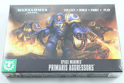 Easy To Build: Primaris Aggressors, Space Marines, Warhammer 40k, NEU/OVP