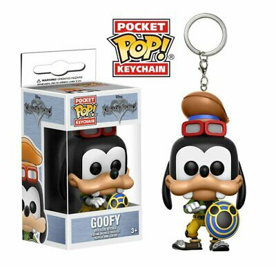 Kingdom Hearts Pippo Goofy Portachiavi Pop