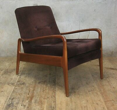 Vintage Mid Century Greaves and Thomas Armchair Chair #2 Danish Style