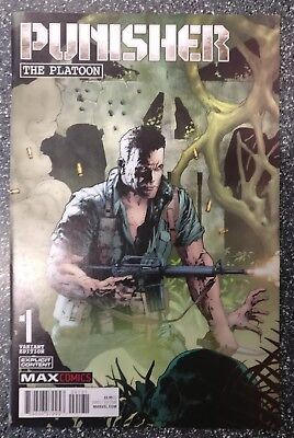 Punisher Platoon #1 Andy Brase 1 in 50 Variant