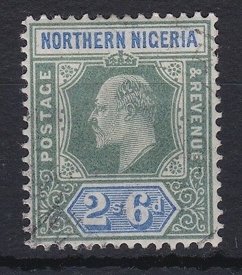 Northern Nigeria 1902 2/6 Edv11 Mca Sg 17 Fine Used Cat £75