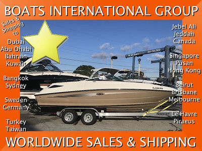 2015 SEA RAY 240 - ALWAYS DRY-STORED ONLY 89 HOURS We ship worldwide
