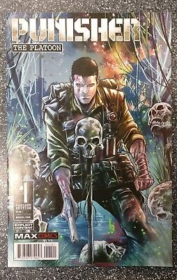 Punisher Platoon #1 Marco Checchetto 1 in 25 Variant