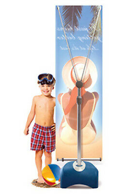 Zephyr Outdoor Banner stand...One stand, used once