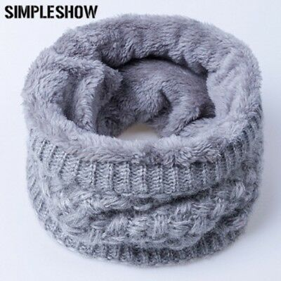 Winter Scarf For Child Knitting Wool Collar Scarf Women Warm
