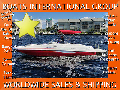 2007 Rinker 240 Captiva - ALWAYS DRY-STORED ONLY 214 HOURS We ship worldwide
