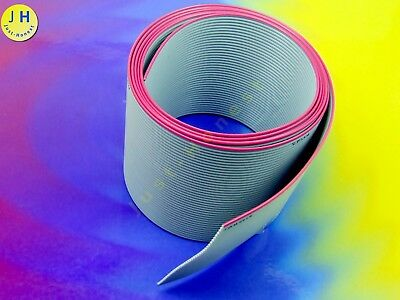 Flachbandkabel Ribbon cable 40 Drähte / Wires (1.27mm) 1 Meter / metre  #A1518