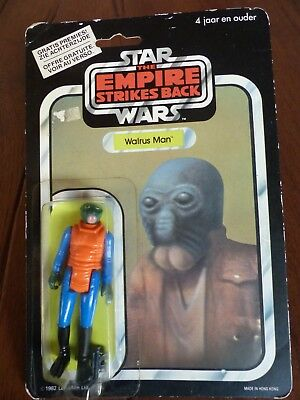 Clipper, Star Wars, Walrus Man, Vintage, 1982, Ovp, The Empire Strikes Back,nr40