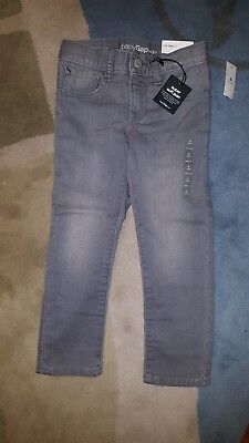 Gap Baby toddler boy gray jeans 4 years 4T NWT