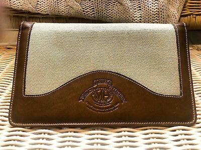 Authentic GHURKA Travel Journal/Card Holder--Beautiful Condition