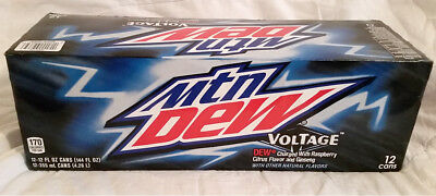 Mountain Dew Voltage - 12 pack of unopened cans