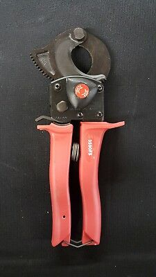 HK Porter 3590FS Ratchet-type One Hand Operation Cable Cutter