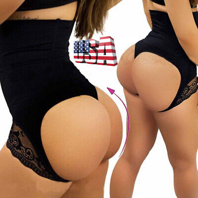 01a8fabb7 Butt Lift Booster Panty Booty Lifter Briefs High Waist Slim Tummy Body  Shaper
