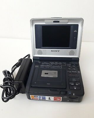 SONY GV-D1000 MiniDV Mini DV Player Recorder Video Walkman VCR Deck EX GVD1000