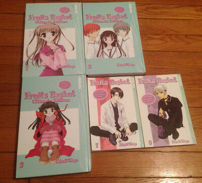 Fruits Basket Volumes 1-8 (Ultimate Editions 1-3 & Volumes 7-8) English