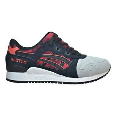 Asics Men's GEL-LYTE III NEW AUTHENTIC Red/Black/White/Grey H6Y0L-2490