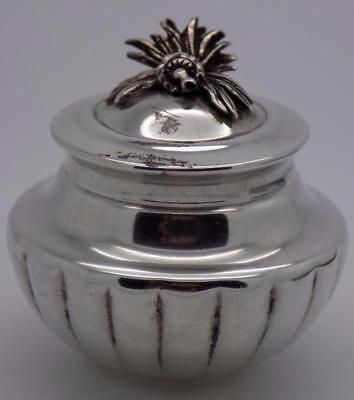 Vintage Sterling Silver 925 Italian Made Box w/t Lid, Stamped