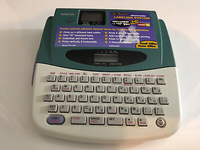 Brother Label Maker Pt-1700 P-Touch 1700 Label Thermal Printer no power adapter