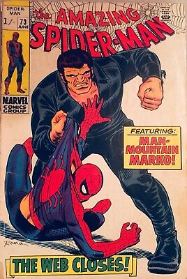 The Amazing Spider-Man # 73 1969