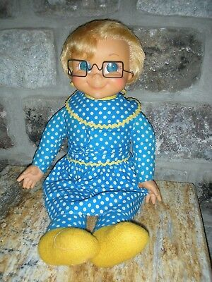 Vintage 1967 Mrs Beasley Doll Mattel Pullstring from Family Affair tv show
