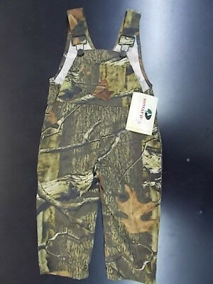 Infant & Toddler Boys Mossy Oak Camo Overalls Size 6 Months - 3T
