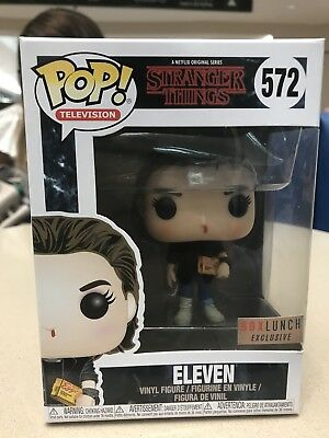 Funko Pop Eleven (Punk) Box Lunch Exclusive Stranger Things Brand New IN HAND