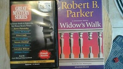 Lot of 2 Cassette audiobooks