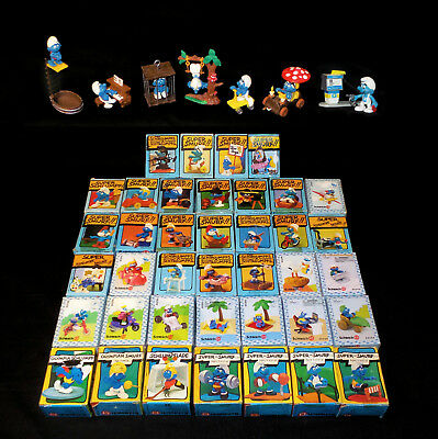 80 Super Smurfs Adult Collection, Some Rare, Many New, See All Details/Photos