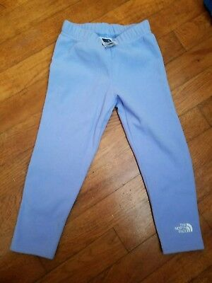 The North Face Toddler Fleece Bottoms Sweats Pants Size 3T NICE