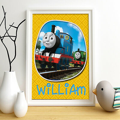 THOMAS Personalised Poster A4 Print Wall Art Custom Name ✔ Fast Delivery ✔