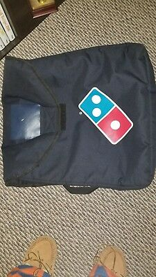 Large thermal dominoes pizza delivery bag