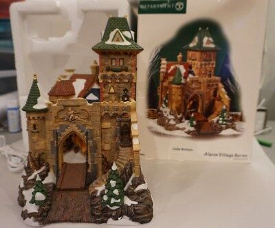 Retired Department Dept 56 Castle Wolfstein Alpine Village 799903