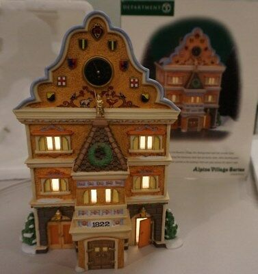 Dept 56 Alpine Village Rathaus Neudorf #56230 Town Hall