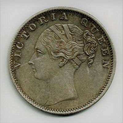 1840 Rupee Victoria XF/AU Silver Early Date and great condition for coin