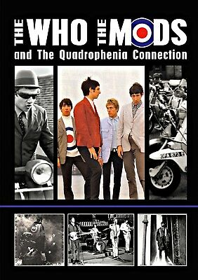 The Who Quadrophenia Stretched Canvas Album Wall Art Poster Print Scooter Mods