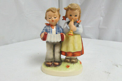 "Vintage Hummel Goebel ""Birthday Serenade"" #218/2/0 TMK 6 - 4.5"" Figurine LOOK!"