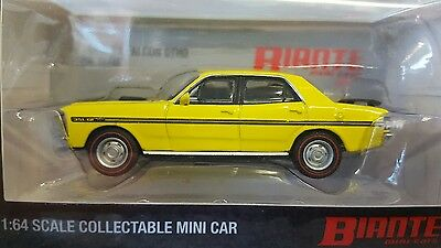 1:64 Ford Falcon XY GTHO Yellow Glow Biante