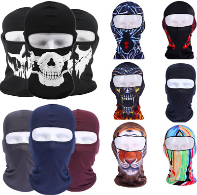 Balaclava Head Face Mask Bike Motorbike Helmet Liner Hood Cycling Sun Block