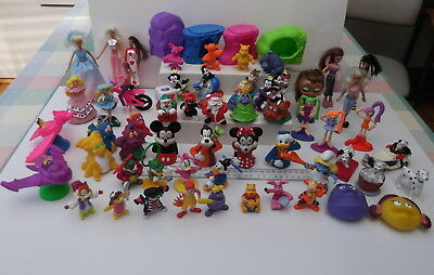 55 Assorted Vintage McDonalds Happy Meal Toys Characters Figures Large Variety