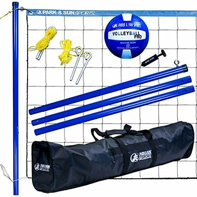 Net Systems Park Sun Sports Volley Sport: Portable Outdoor Volleyball System,