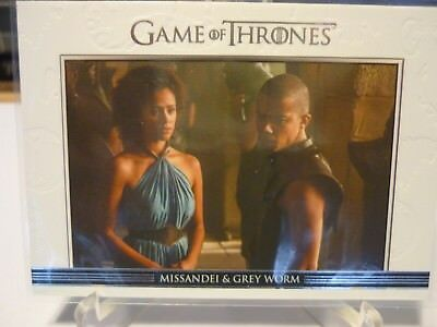 Grey Worm & Missandei Game Of Thrones Relationships Insert 1:24 Packs