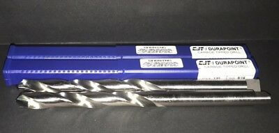 """2X PC CJT DURAPOINT #13005625, Style 130 Carbide Tip Taper Tanged Drill 9/16"""""""