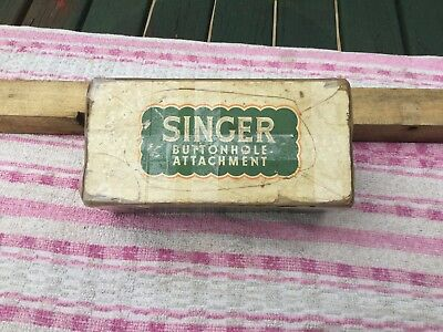 SINGER BUTTONHOLE ATTACHMENT No. 86662