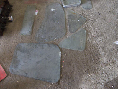 12 pieces of leyland tractor cab glass