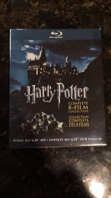 Harry Potter: Complete 8-Film Collection (Blu-ray, 2011, 8-Discs) Sealed Box NEW