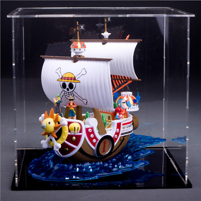 Retail 20cm One Piece Thousand Sunny Pirate ship PVC Action Figure Toy