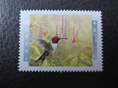 """Canada Stamps---#1594  Mint  1996  """"birds Of Canada""""  Ruby Throated Hummingbird"""